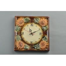 Часы настенные 'Герберы'