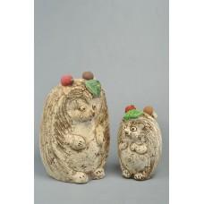 Скульптура 'Ёжик' с фруктами