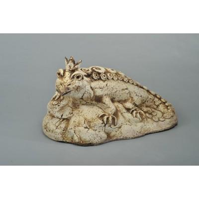Скульптура 'Ящерица'