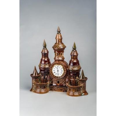 Часы настольные 'Замок' №1