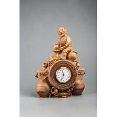 Часы настольные 'Гончарное подворье'