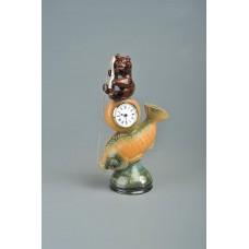 Часы настольные 'Рыболов'