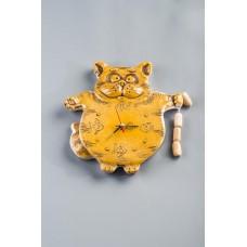 Часы настенные 'Кот' №1