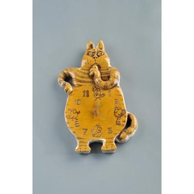 Часы настенные 'Кот' №2