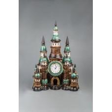 Часы настольные 'Замок' №2