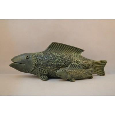 Скультура Мама-рыба