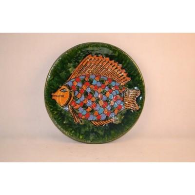 Настенное панно Рыба (шамот)