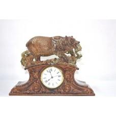Часы Медведь